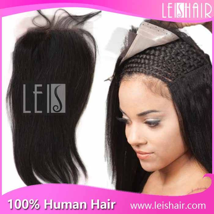 cheap price unprocessed virgin brazilian straight lace closure