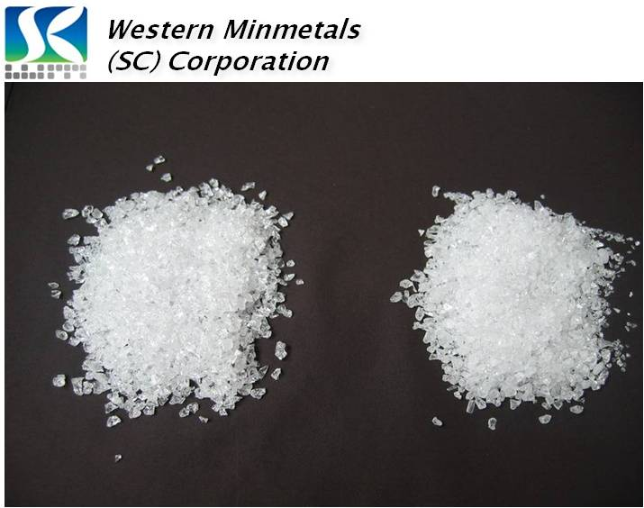High Purity Silicon Dioxide at Western Minmetals SiO2 99.999%
