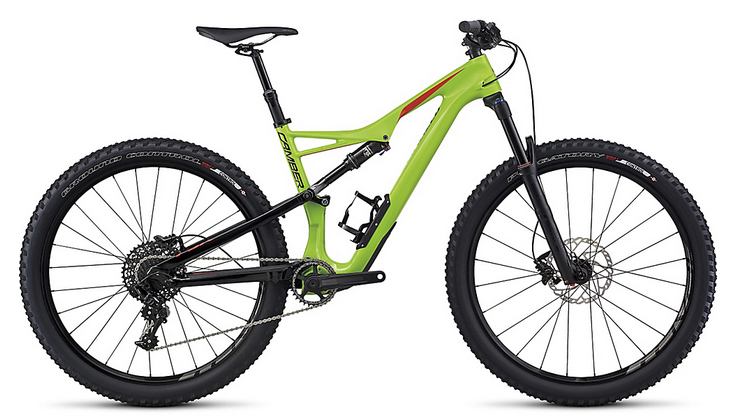 2017 Specialized Camber Comp Carbon 650B MTB