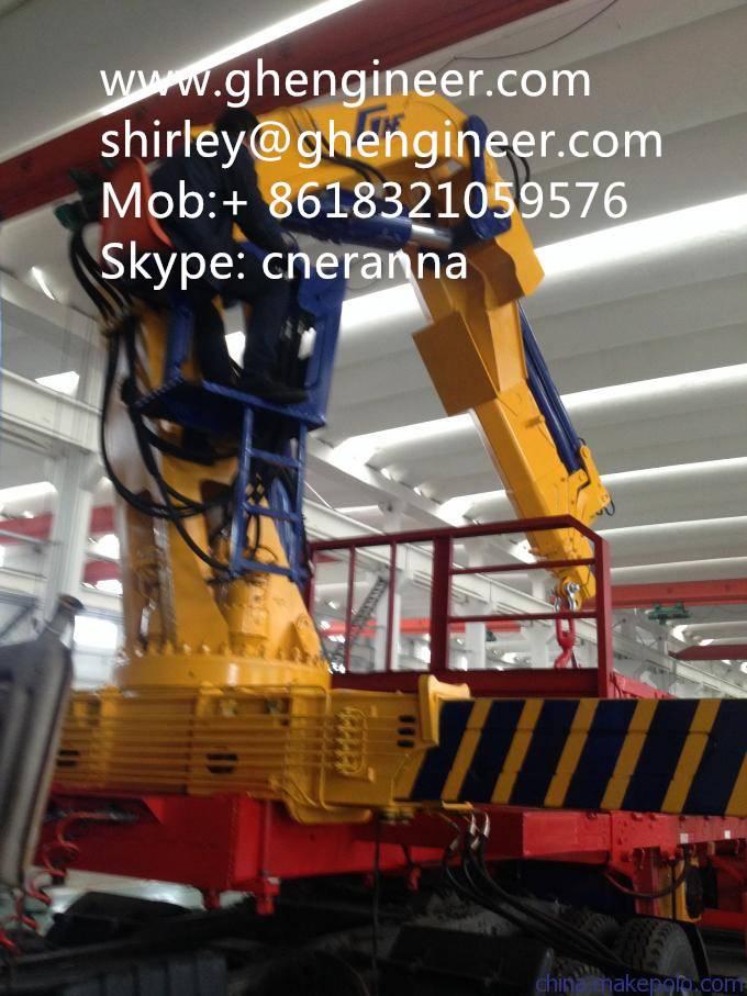 Truck Mounted Crane-Knuckle Boom Cran