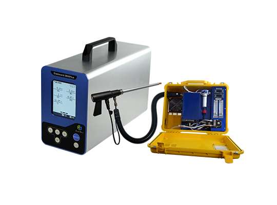 Portable Infrared Flue Gas Analyzer Gasboard 3800Plus