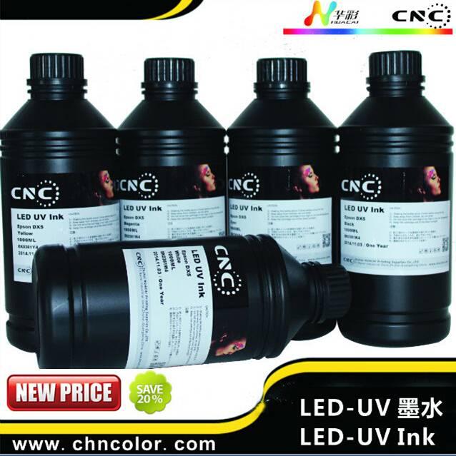 flatbed printer uv white ink led uv ink for epson uv printer from ink manufacturer