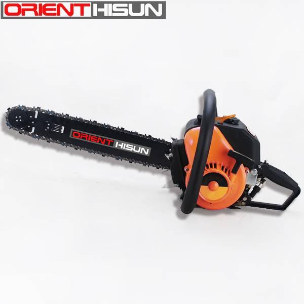 78cc/YD78 powerfull gasoline chain saw/long guide bar chain saw/ big power cutting machine