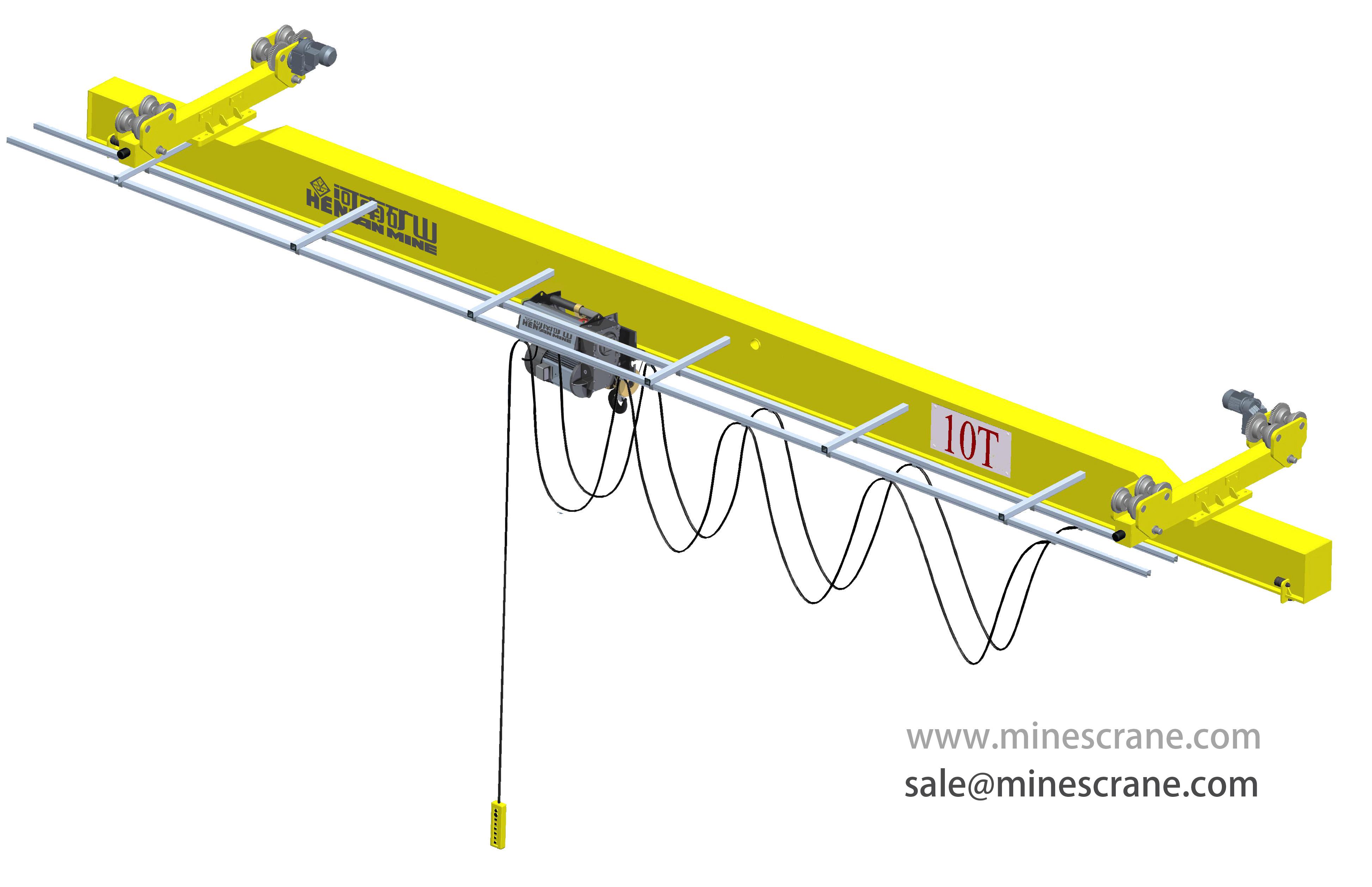 Underhung Single Girder Overhead Crane
