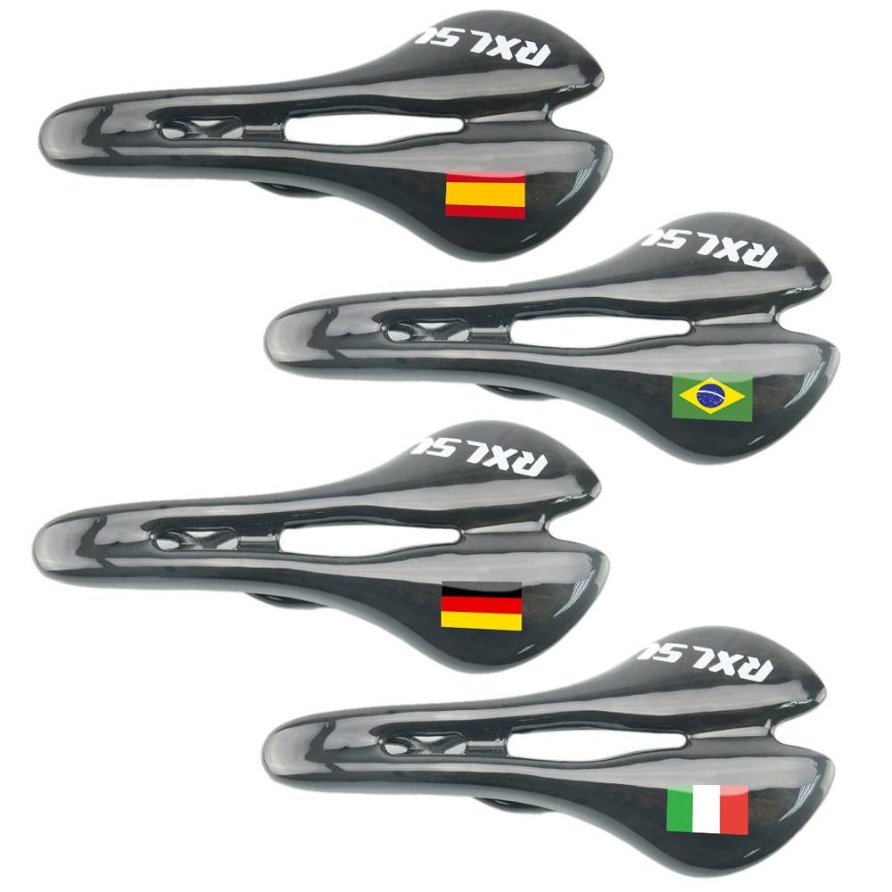 New Arrival 100% Carbon Fiber Racing Bicycle Saddle Cycling Bike Parts Road/MTB BIke Saddle 3K Finis