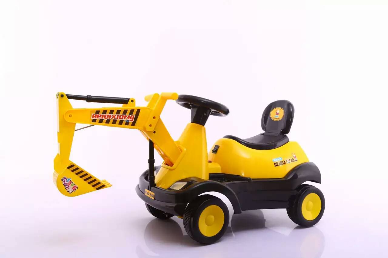 Xingtai facotry Children electric toy car for kids to drive ride on car toy excavator