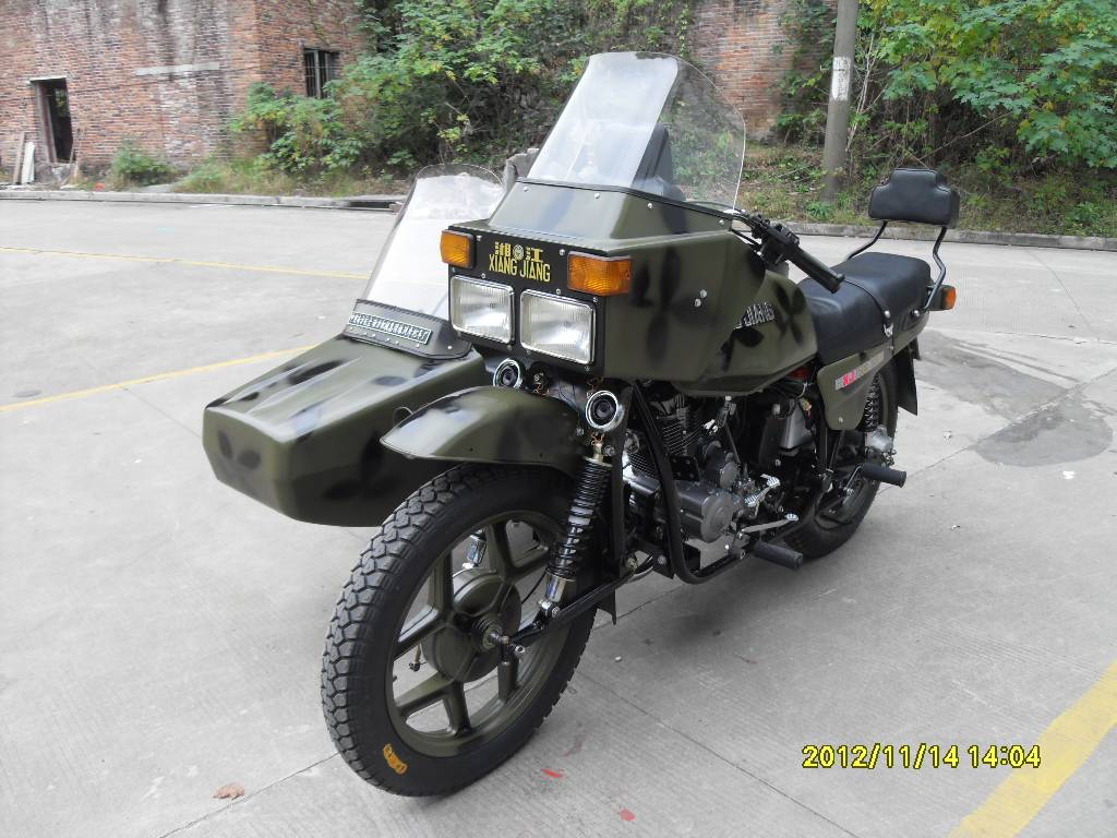 250cc Motorcycle Sidecar
