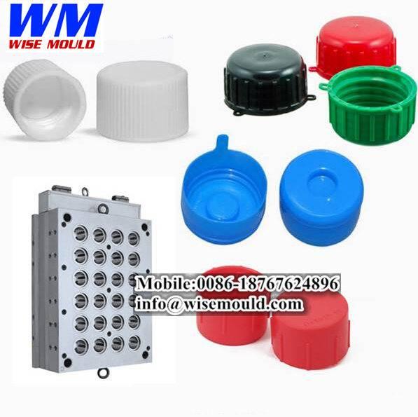 High quality-plastic 5 gallon caps mould,mineral water caps mold,bottle cap molding maker