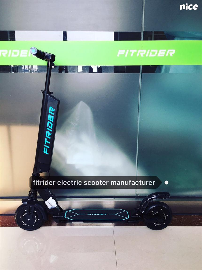 New Electric Scooter Fitrider T1s Model 8inch Wheel Quick Released Battery