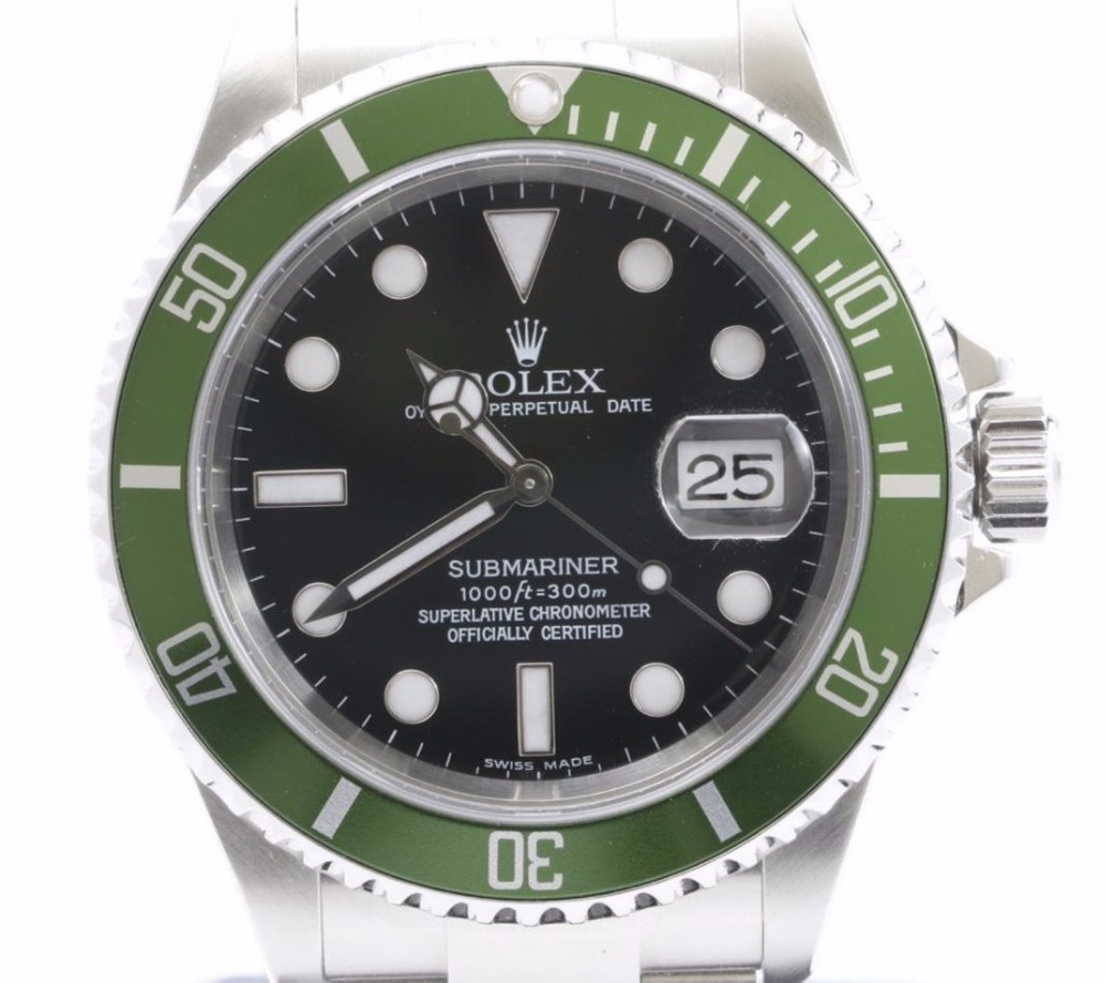 Preowned Used Luxury ROLEX Submariner Wrist Watches for bulk sale.