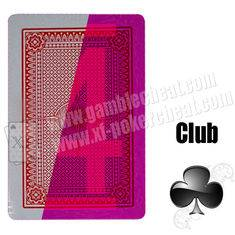 Poker Side Bin Li Paper Marked Cards / Red Invisible Poker