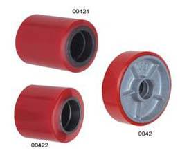 Forklift Heavy Duty pu Wheel iron core China supplier