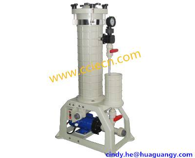 new design 2014 HGF-2004 Series Electroplating Filter PP for PCB,electroplating industry, chemical