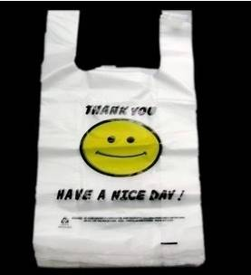 t-shirt plastic bags/shopping bags