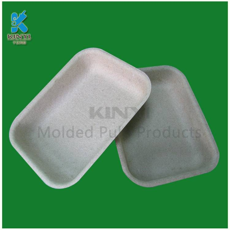 Bagasse pulp mold dry fruit packaging tray,eco-friendly