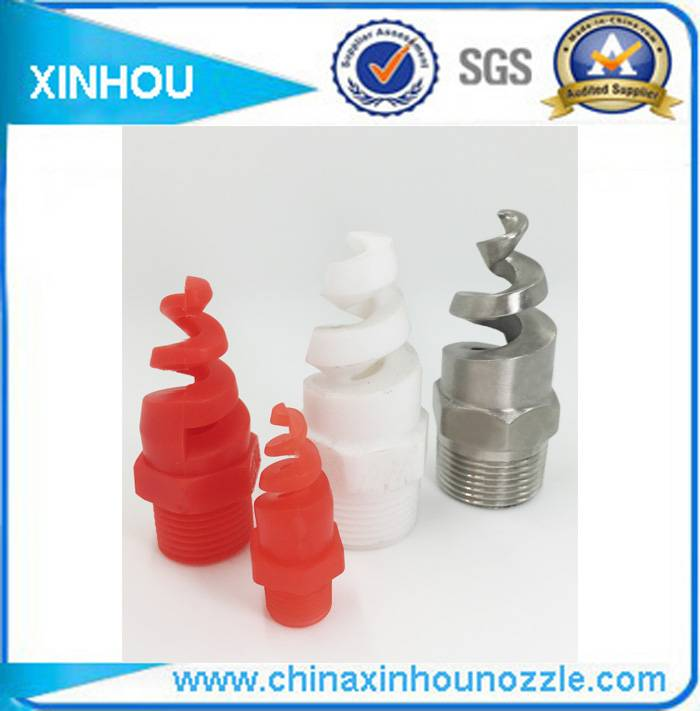 PP fire fighting water jet spiral nozzle