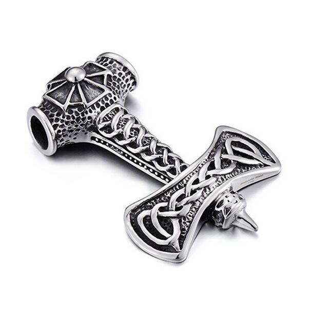 Retro Punk Stainless Steel Necklace Pendants Men's Jewelry Wholesale Vintage Personality Pendants