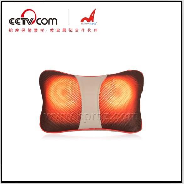 Portable Shiatsu Kneading Heat Home and Car Use Mini Massage Pillow