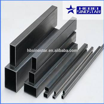 High Quality Cold Rolled Steel Rectangular Pipe from China