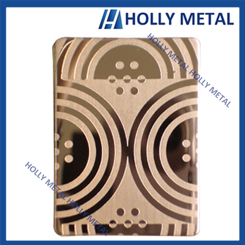 Stainless steel cold rolled decorative sheet color sheet for elevator building indoor