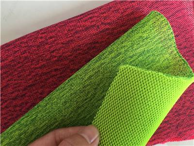 types of air layer nylon and polyester mesh fabric