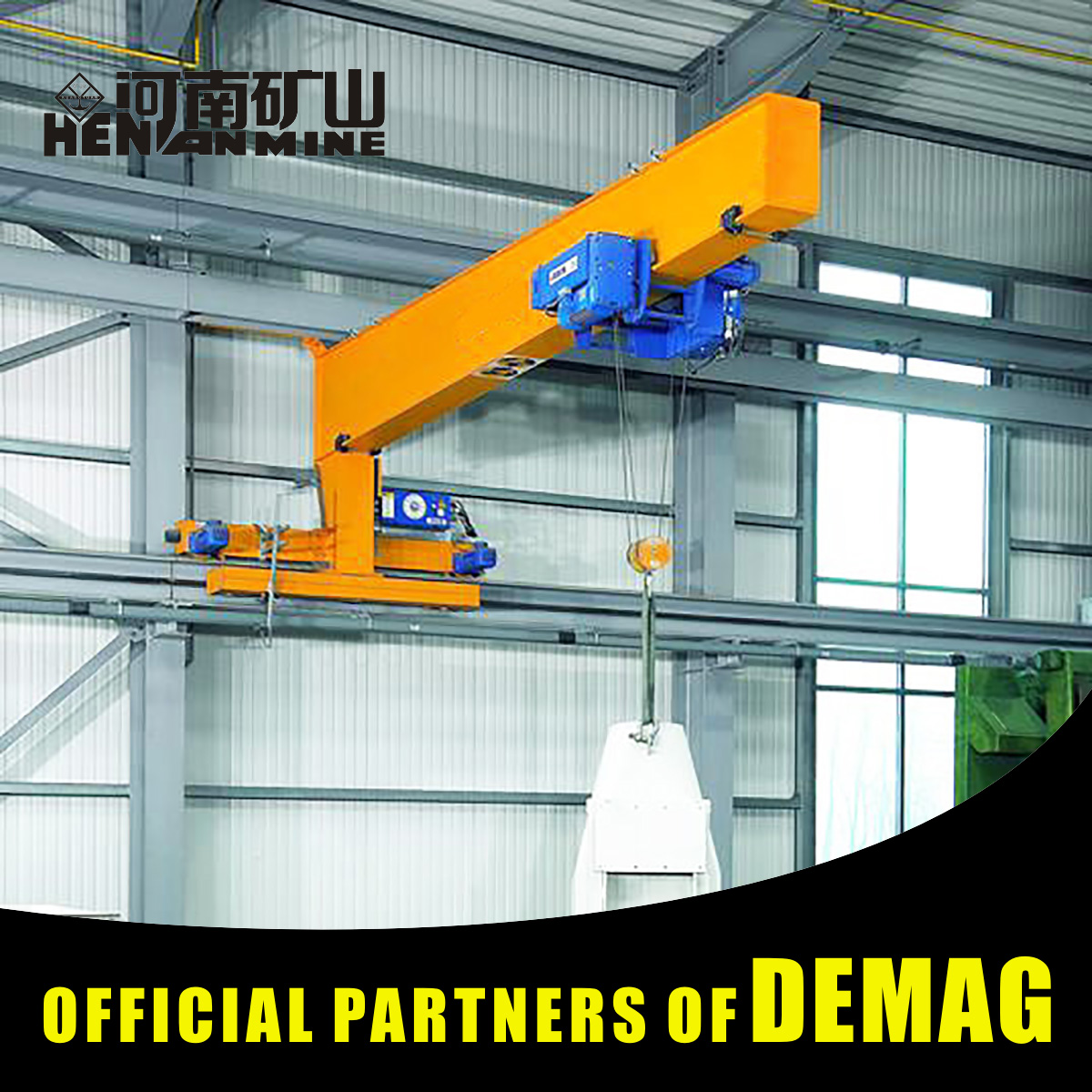 1 ton Wall Traelling Jib Crane for sale