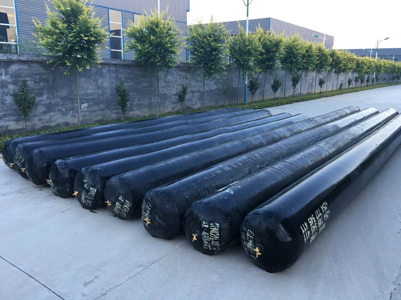 Inflatable rubber culvert balloon/pneumatic inflatable rubber mandrel