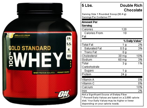 Optimum Nutrition 100% Whey Protein Gold Standard 10lb bag