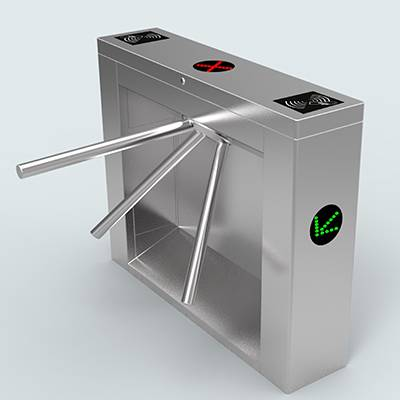 Bridge tripod turnstile barrier gate in Access Control System