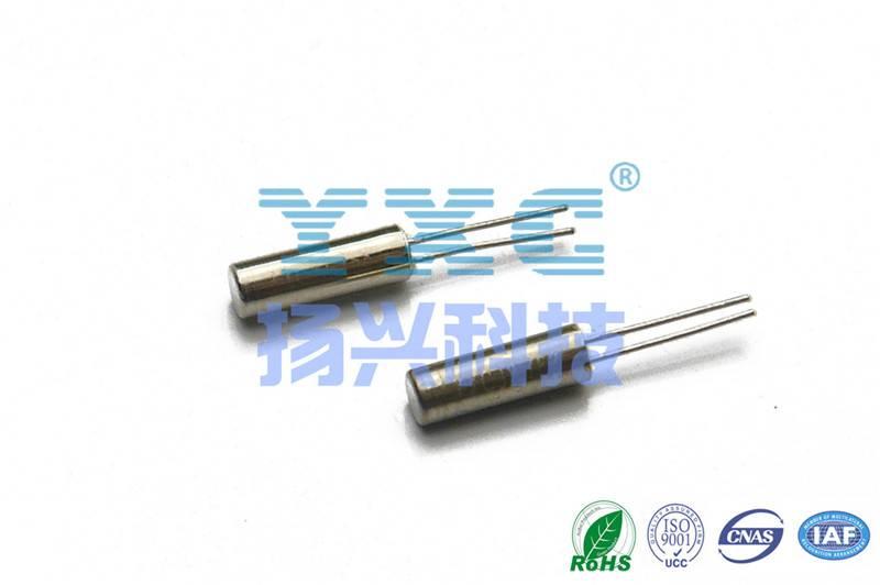 32.768KHZ 2060 12.5PF 5PPM DIP Crystal Resonator 2P 32.768k crystal 32.768khz 2.0*6.0mm KBC real-tim
