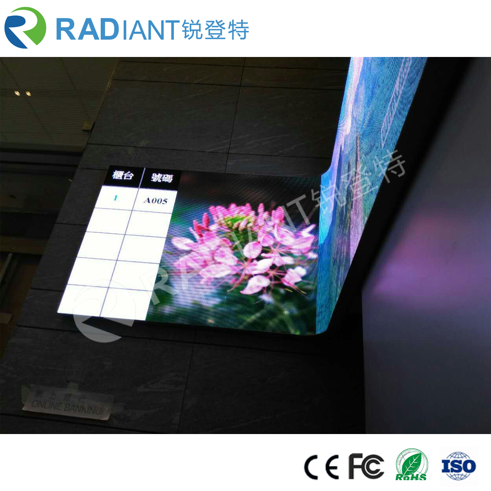 good quality new product curved led screen supplier with cheap price