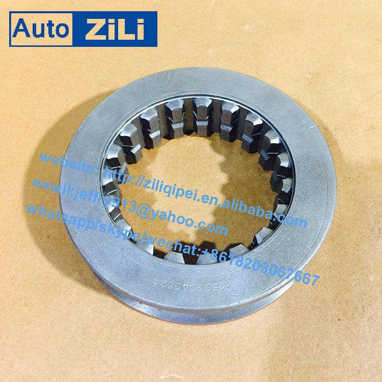 high performance higer bus gearbox spare parts synchronizer Sliding Sleeve 1250304362