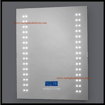Bathroom mirrors with light and radio produced by ENE LIGHTED MIRRORS from China accepted custom oem