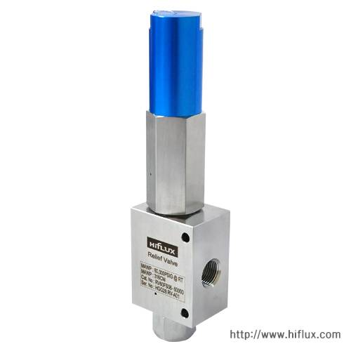 HIFLUX - High Pressure Relief Valve - Factory Set 3000psi - 60000psi