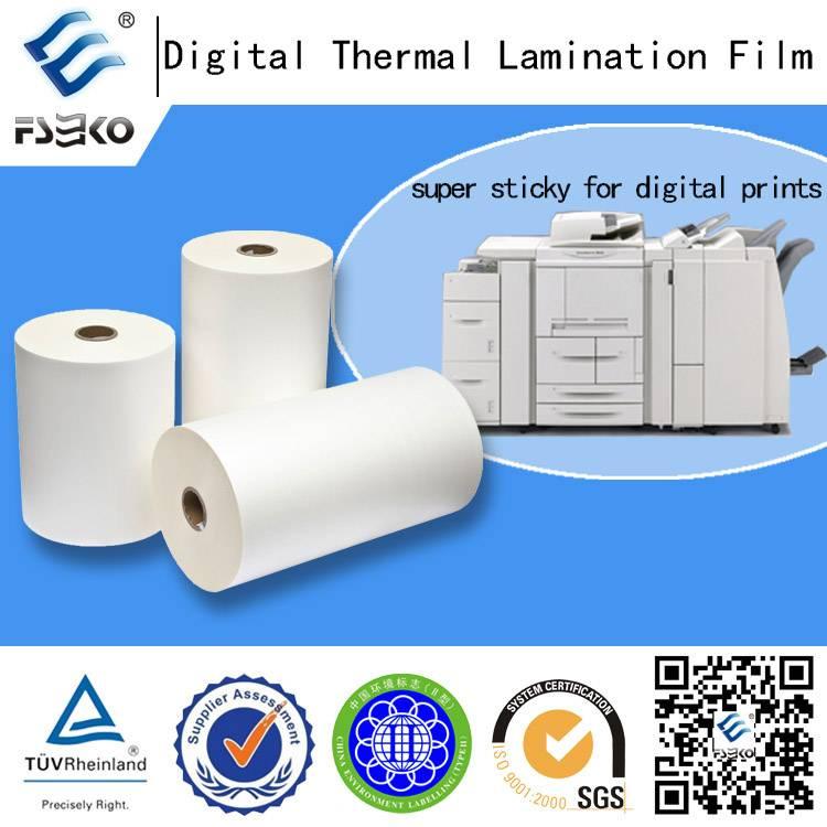 Superstick Digital Laminating Film Special for Digital Printing (35mic)