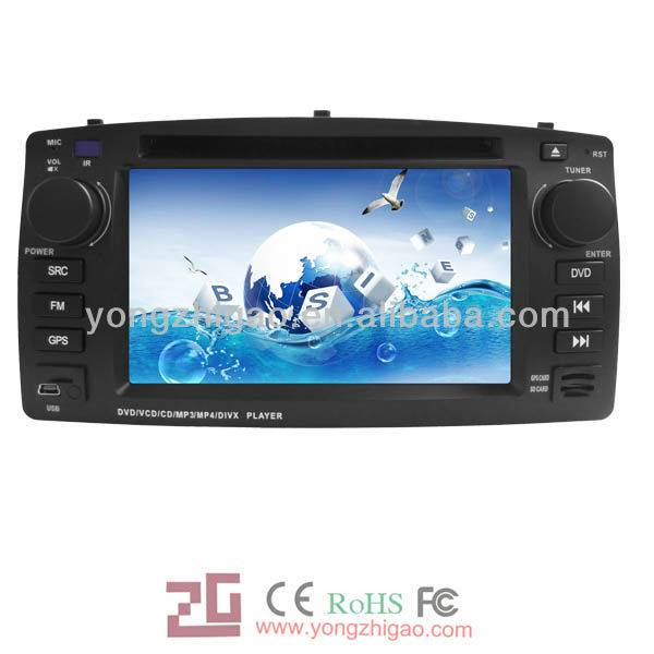 "6.2"" car dvd gps navigation for BYD-F3 with entertainment function"
