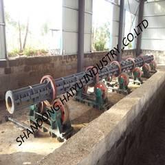 RCC electric concrete pole machine