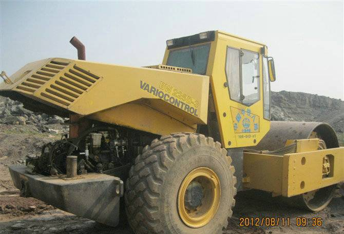 USED BOMAG BW225DH-3 ROAD ROLLER