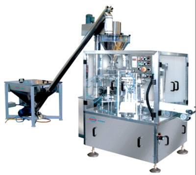 Automatic Bag Filling and Sealing Machine for Powder
