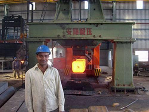hydraulic forging hammer