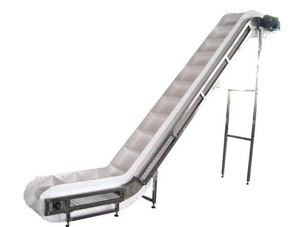 Steep Incline Belt Conveyor