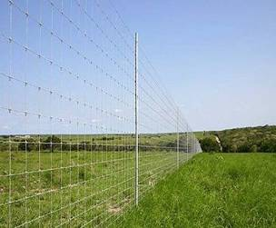 Fixed Knot Field Fence