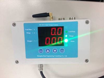 Tower Crane Load Moment Indicator LMI Display System