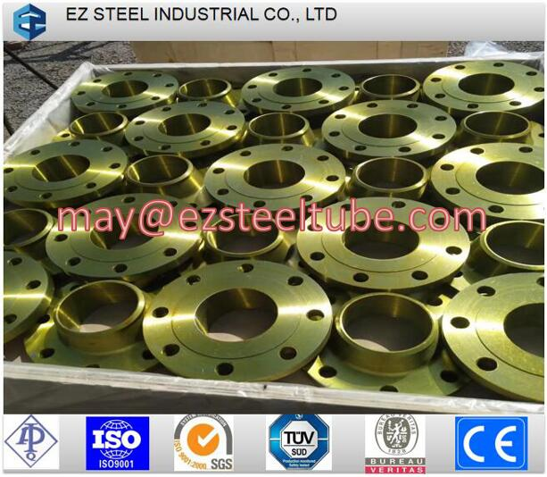 Steel Pipe Fitting, Goet Stainless Flange, Neck Flange,