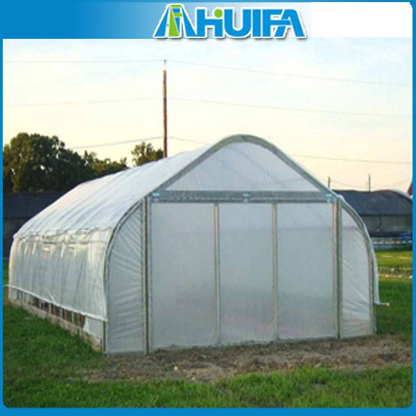 Commercial Agricultural Plastic Film Greenhouse Equipment