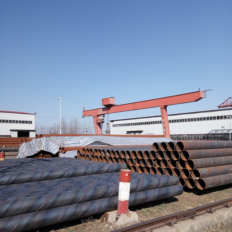 ASTM steel Spiral welded pipe for construction