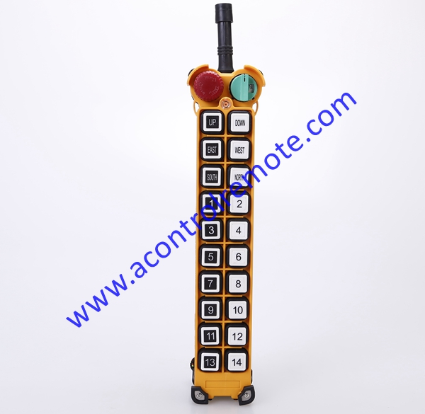 AC110V Telecontrol Radio Remote Control with 20 buttons