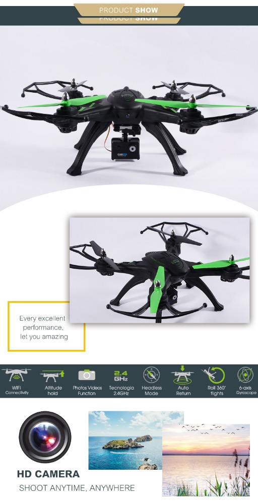 Best selling hot chinese products wifi fpv camera drone commercial drones profesionales