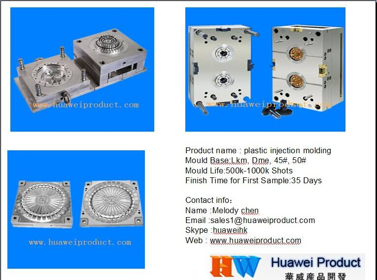 mould design mold making plastic injection mold toys mold in china