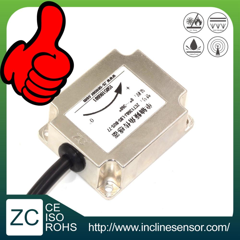 1 axis 360 degree measure range tilt sensor for solar tracking system